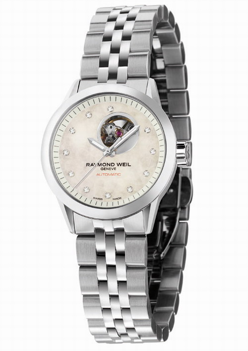RAYMOND WEIL Geneve Freelancer Diamond Ladies 2410-ST-97081