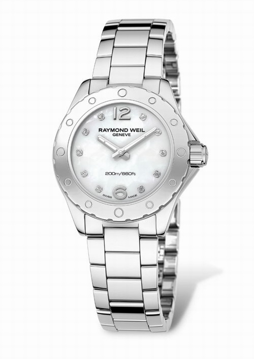 RAYMOND WEIL Geneve RW Spirit Diamond Ladies 3170-ST-05985