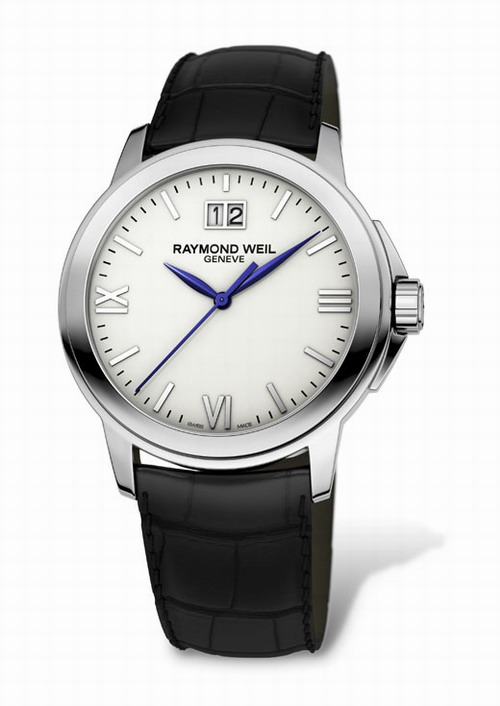 RAYMOND WEIL Geneve Tradition Black Leather Gents 5576-ST-00307