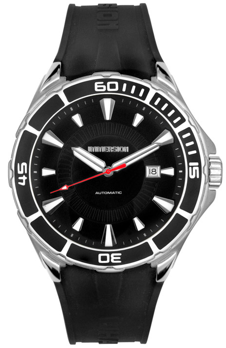 Immersion Men's Whale Black Rubber Automatic 6875