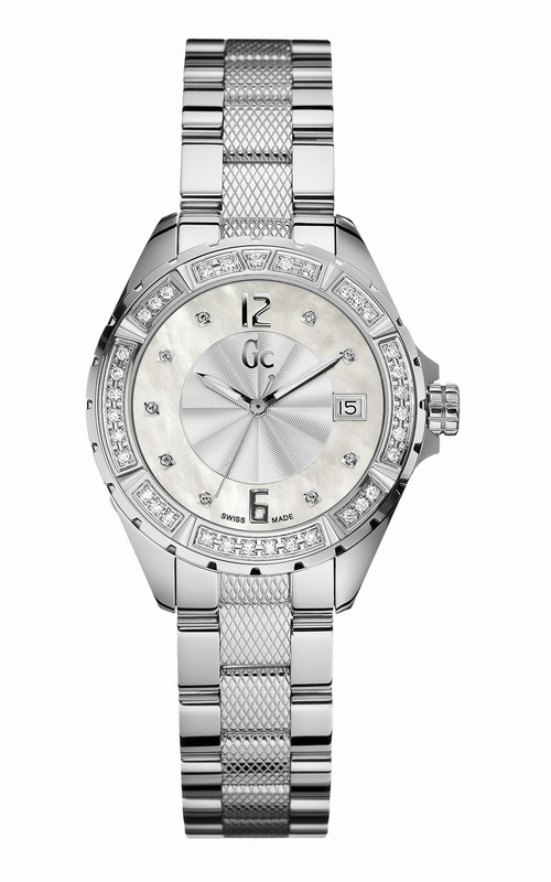 GUESS Collection Stainless Steel Diamond Ladies A70103L1