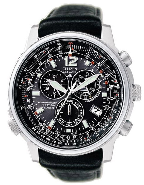 Citizen AS4020-28E Promaster Eco-Drive Radio Controlled Pilot