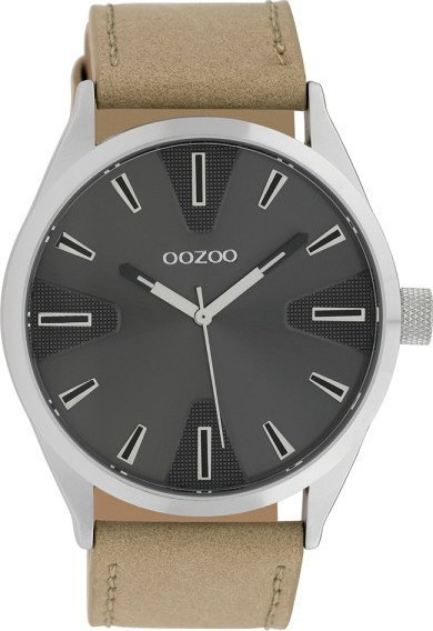 Oozoo Timepieces XL Brown Leather Strap C10021