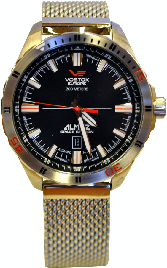 Vostok Europe Almaz Automatic Stainless Steel Bracelet NH35-320A258B