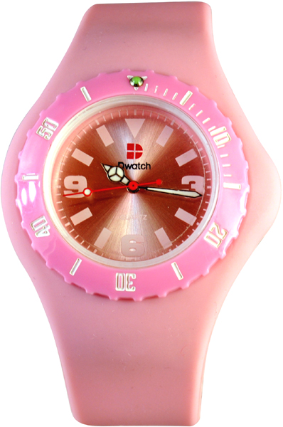D-Watch Pink Silicone Strap YL-SP022 PINK