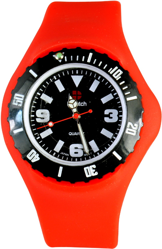 D-Watch Red Silicone Strap YL-SPO22