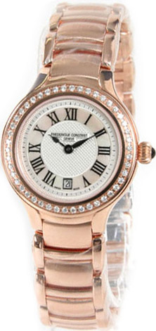 Frederique Constant Delight Diamonds Stainless Steel Bracelet FC-220M2ERD4B
