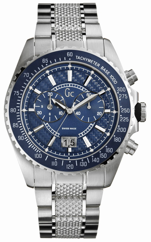 GUESS Collection Stainless Steel Bracelet Chronograph 41007G1