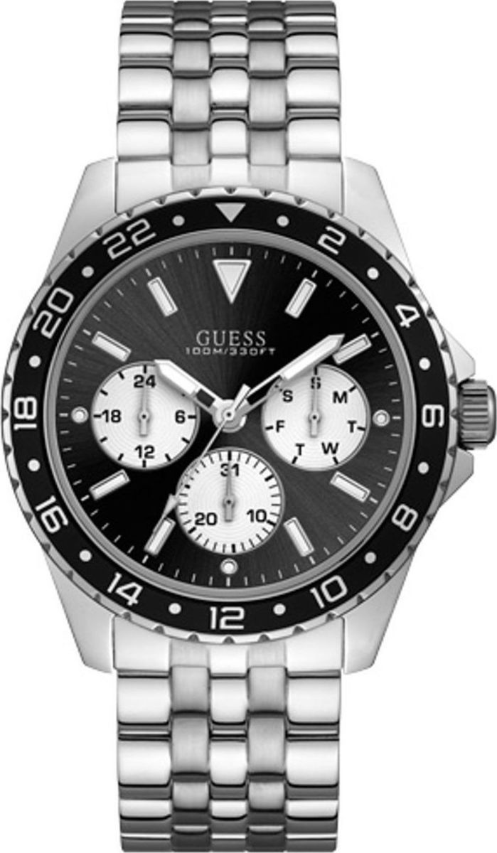 GUESS Stainless Steel Chronograph W1107G1