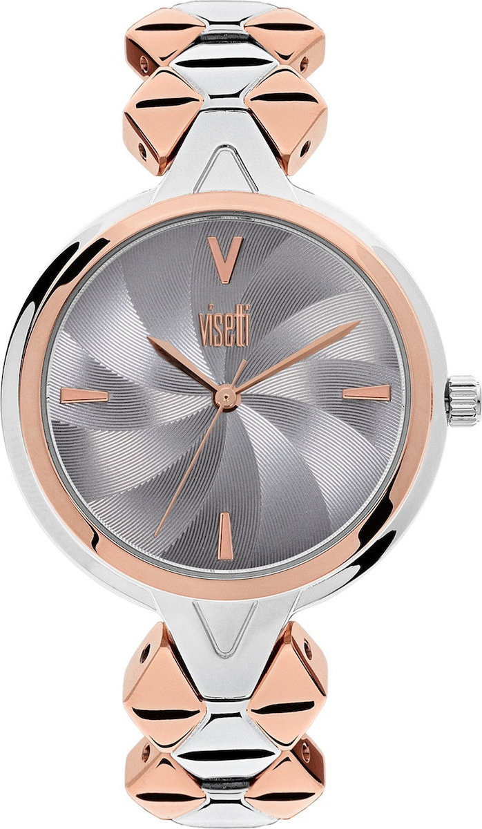 Visetti Flare Grey/Rose Gold ZE-364SRI