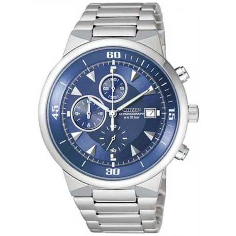 CITIZEN Analog Mens Chronograph Watch AN3371-54L