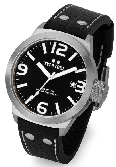 TW Steel Icon Collection Black Steel Watch TW630