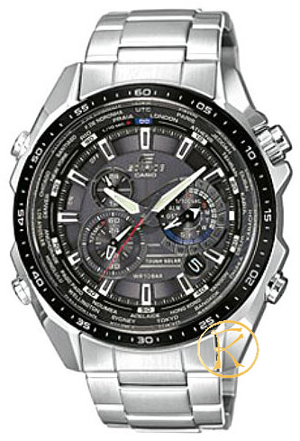 CASIO Edifice Sollar Chronograph Stainless Steel Bracelet  EQS500DB1A1ER