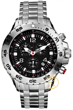NAUTICA NST Chronograph Stainless Steel Bracelet A24525G