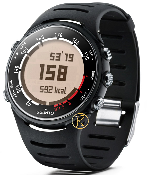 SUUNTO T3D Heart Rate Monitor Black Rubber Strap SS015312000