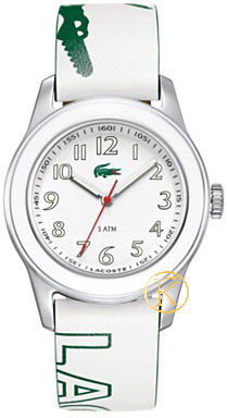 Lacoste White Leather Strap 2000518