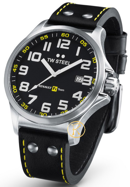 TW Steel Renault F1 Pilot watch 48mm TW671