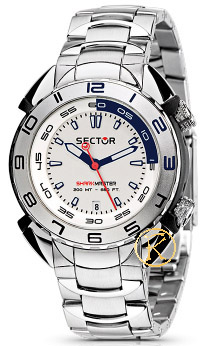 SECTOR Shark Master Stainless Steel Bracelet Men R3253178045
