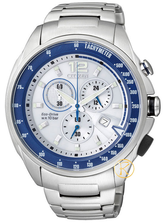 CITIZEN EcoDrive Stainless Steel Bracelet Mens AT0798-59A