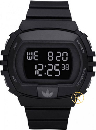 ADIDAS NYC Digital Chronograph Black Rubber Strap ADH6079