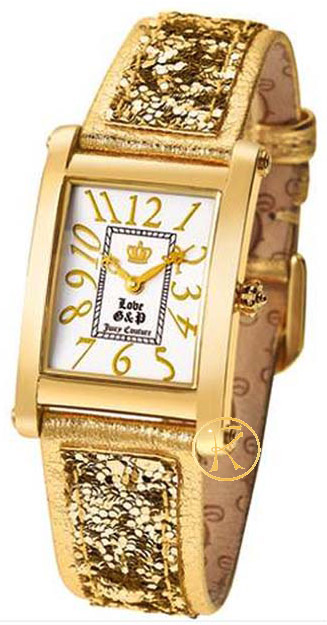 Juicy COUTURE Gold Leather Strap 1900412