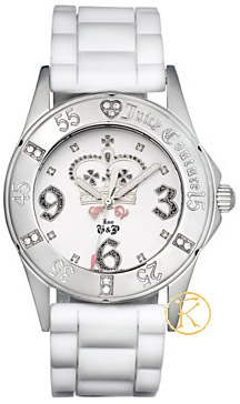Juicy COUTURE Rich Girl White Rubber Strap 1900670