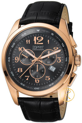 Esprit Mens Noble Rosegold Watch ES102201003
