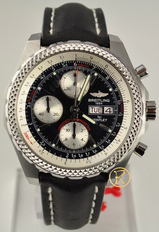 Breitling for bentley GT leather strap