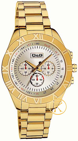 D&G PAMPELONNE Stainless Steel Chronograph DW0446