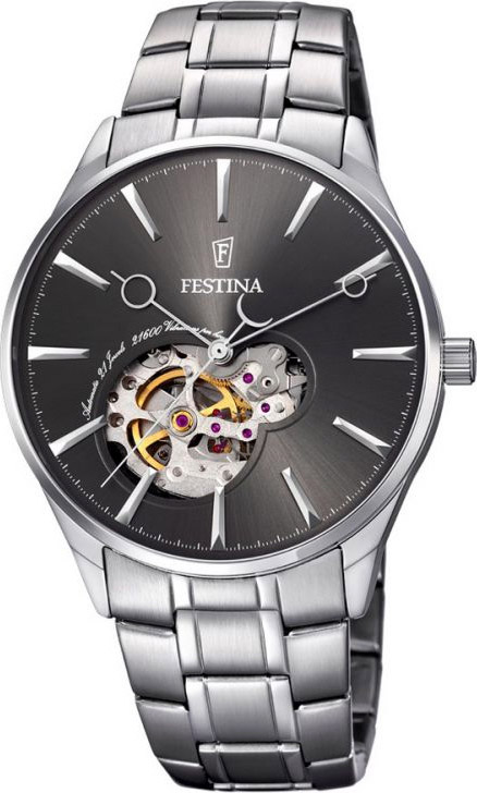 FESTINA Men's Stainless Steel Bracelet Automatic Watch | F6847/2