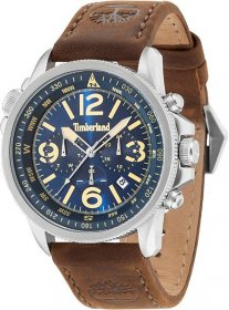 Timberland Brown Leather Strap 13129JS/03