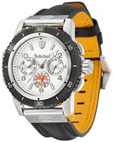 TIMBERLAND Claremont Grey Leather Strap 13334JSTB-01