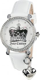 Juicy Couture White Leather Strap 1900698