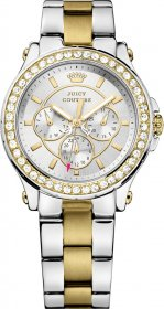 Juicy Couture Women's Pedigree Two Tone Bracelet Watch 1901066