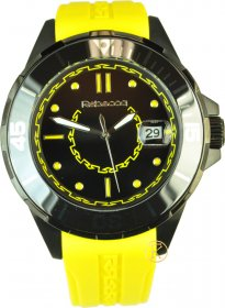 REBECCA Griffe Yellow Rubber Strap AGRONY81