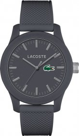 Lacoste Grey Rubber Strap 2010767