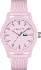 Lacoste Saati Pink Rubber Strap 2010773