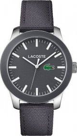 LACOSTE 1212 Grey Leather Strap 2010919