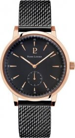 Pierre Lannier Stainless Steel Bracelet Black Gold 216H438