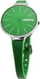 Hoops Glam Green Rubber Strap 2233L13