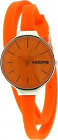 Hoops Glam Gummy Orange Dial And Rubber Strap 2233LA07