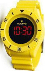 HOOPS Touch Yellow Rubber Strap 2479ME01