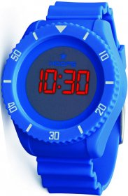 Hoops Under Water Touch Blue Rubber Strap 2479ME-03