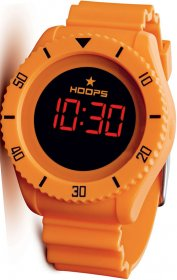HOOPS Touch Orange Rubber Strap 2479ME02