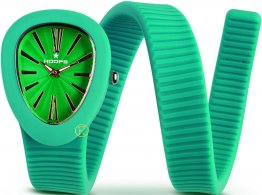 HOOPS Green Long Rubber Strap 2480L05
