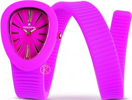 HOOPS Fuchsia Long Rubber Strap 2480L06