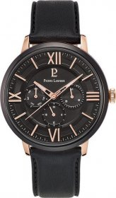 Pierre Lannier Black Leather Strap 254C433