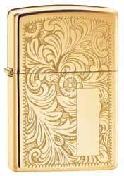 Zippo Αναπτήρας Venetian  Regular Brass Venetian 352B