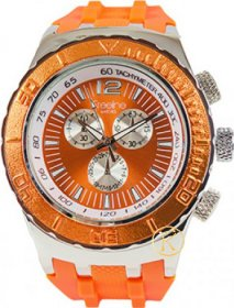 Freeline Orange Rubber Strap 6944A