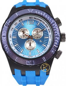 Freeline Blue Rubber Strap 6944C